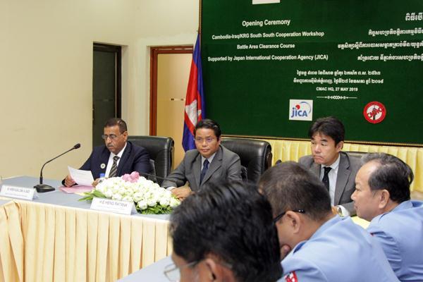 Cambodia Provides Training to 27 Iraqi Mine Action Experts
