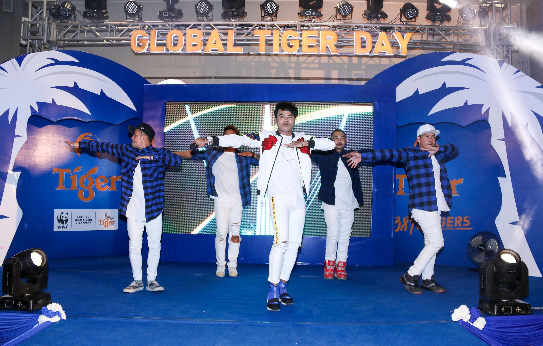 ស្រាបៀរ Tiger និងអង្គការ WWF រួមគ្នាប្រារព្ធទិវា GLOBAL ...