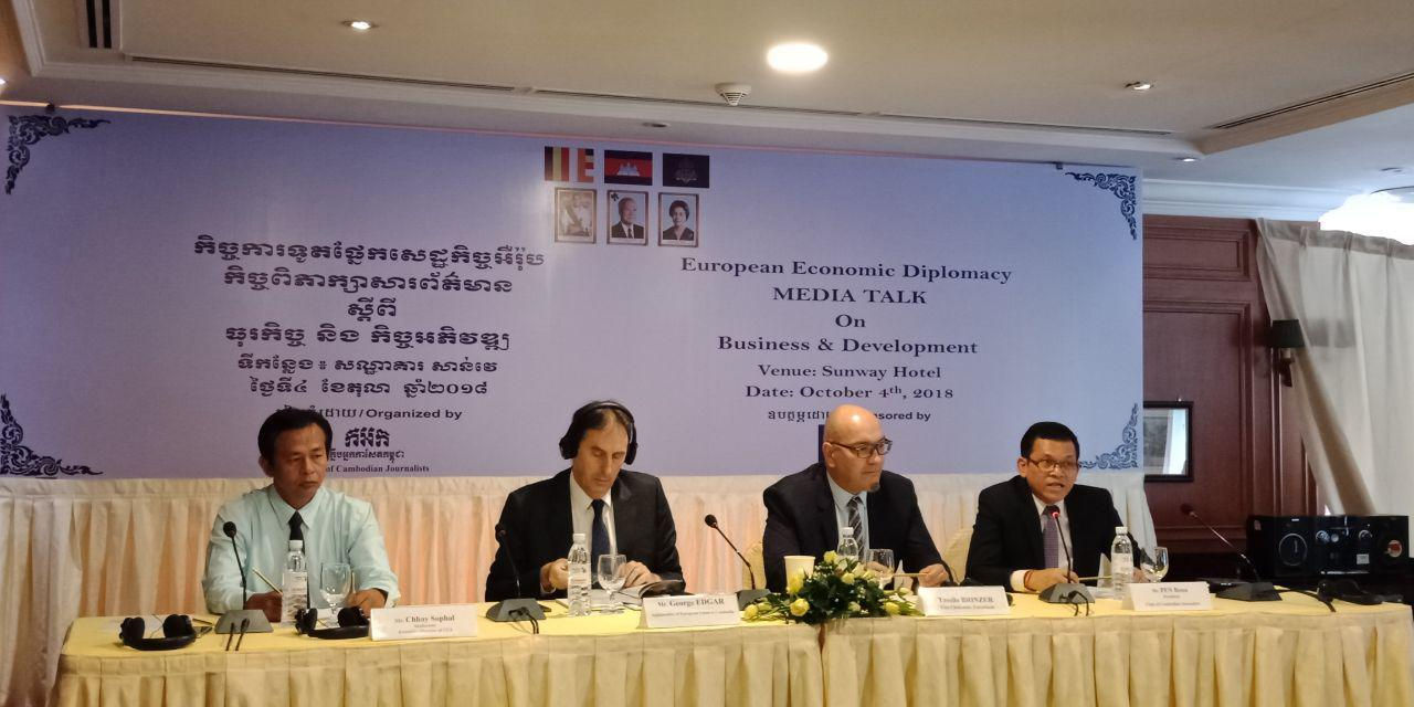 EU Ambassador to Cambodia: EBA Scheme for Cambodia Will Last