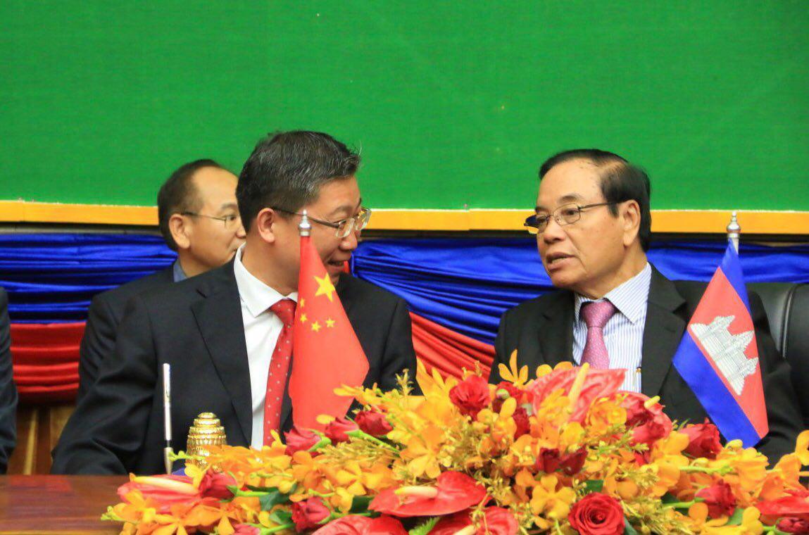柬埔寨-中国民间组织签署协议金额超过百万美元首次为图片